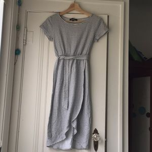 Lulu's striped tulip dress